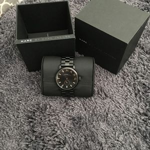 Marc By Marc Jacobs Baker watch black/ gold